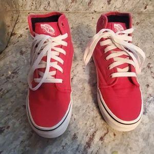 Red Vans sneackers 🚫 WOMEN OR MEN🚫